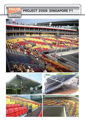 Singapore, Singapore City, F1 Grand Prix - 17000 seats