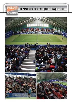 Serbia, Beograd, Tennis Club - 2000 seats