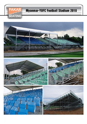 MYANMAR: YUFC stadium -1500 seats with roofing