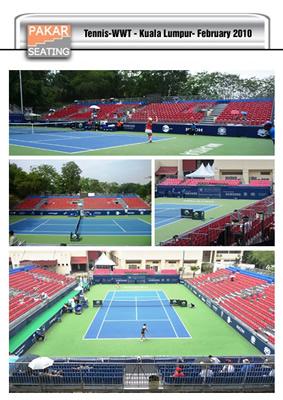MALAYSIA-WWT Tennis Kuala Lumpur:-2,300 seats