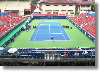 Grandstand for Tennis Court