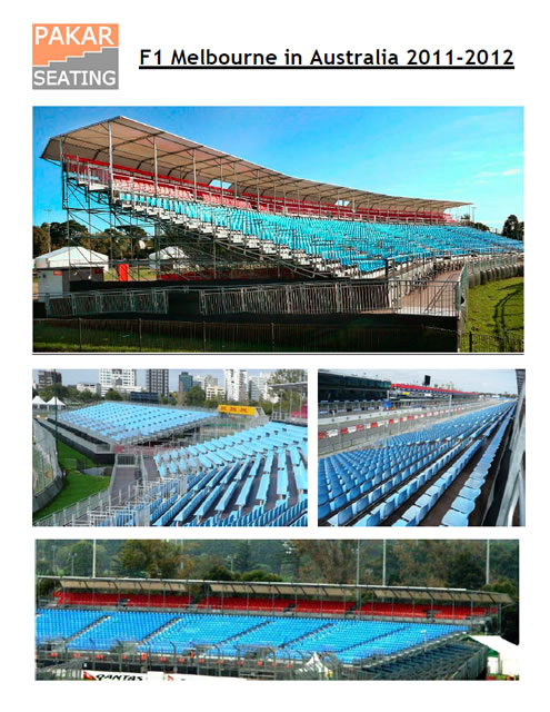 AUSTRALIA - Melbourne - GP F1 - 10,000 seats
