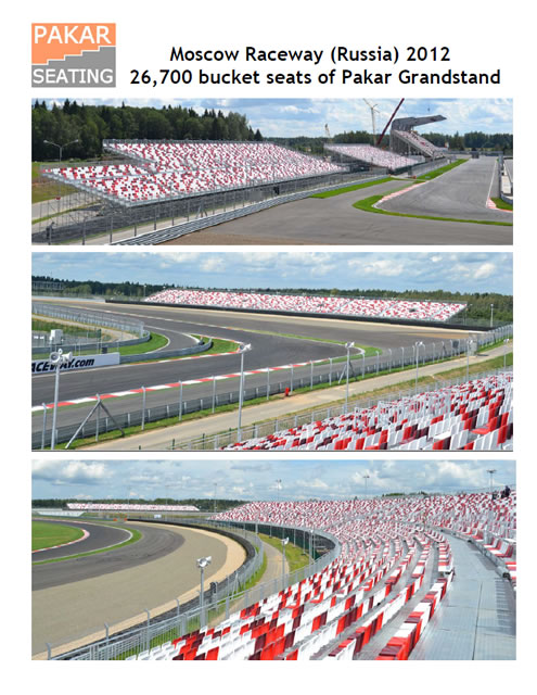 RUSSIA - Moscow Raceway - 26,700 seats