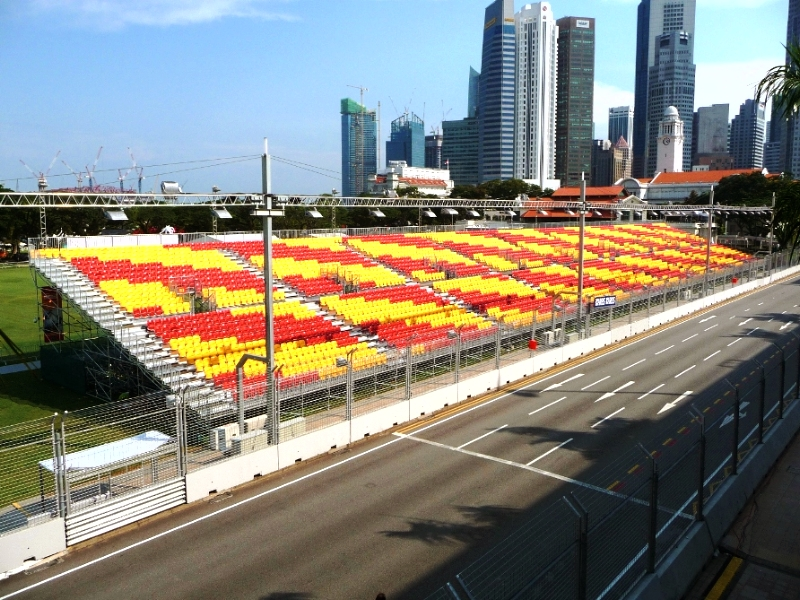 SINGAPORE - F1 GP - Pakar Grandstands