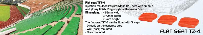 FLAT SEAT TZY-4