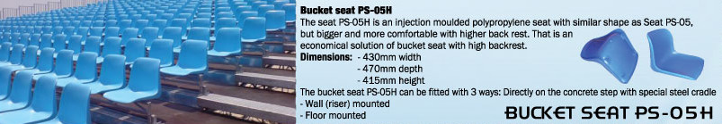 BUCKET SEAT PS-05H