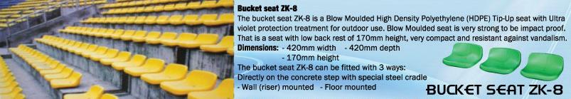 BUCKET SEAT ZK-8