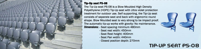 TIP-UP SEAT PS-08