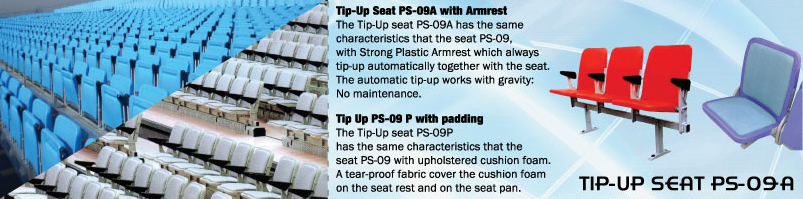 TIP-UP SEAT PS-09 A