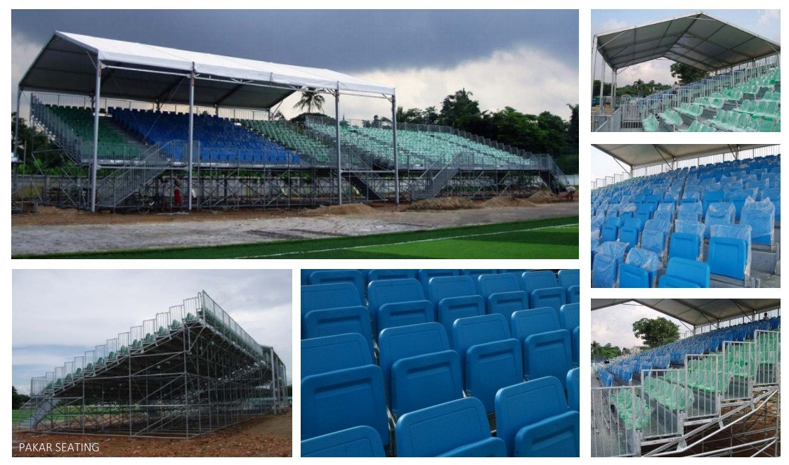 MYANMAR - Yangoon - Football Stadium - 1,000 seats