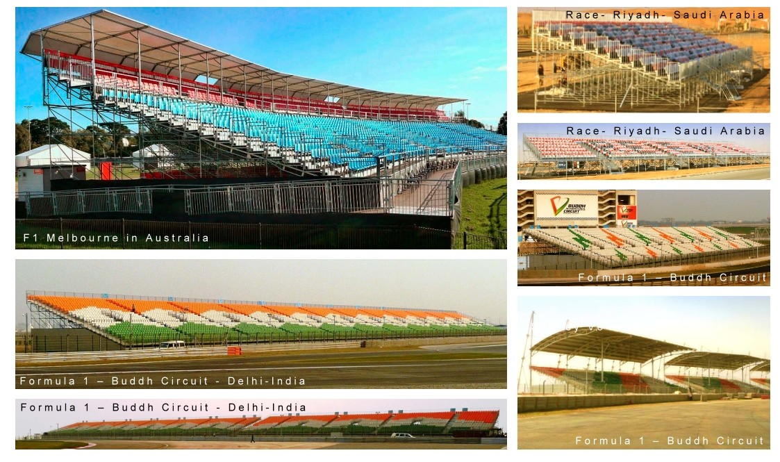 Pakar Grandstand for Race Track