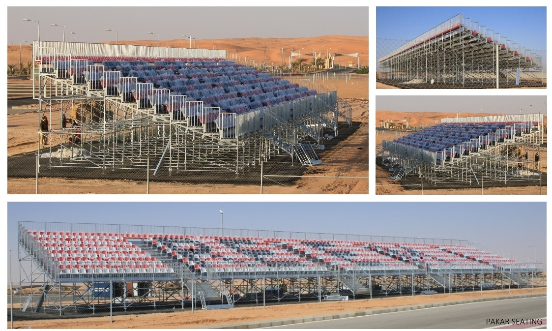 Reem Auto Club in Riyadh Capacity 3,068 seats on 12 rows
