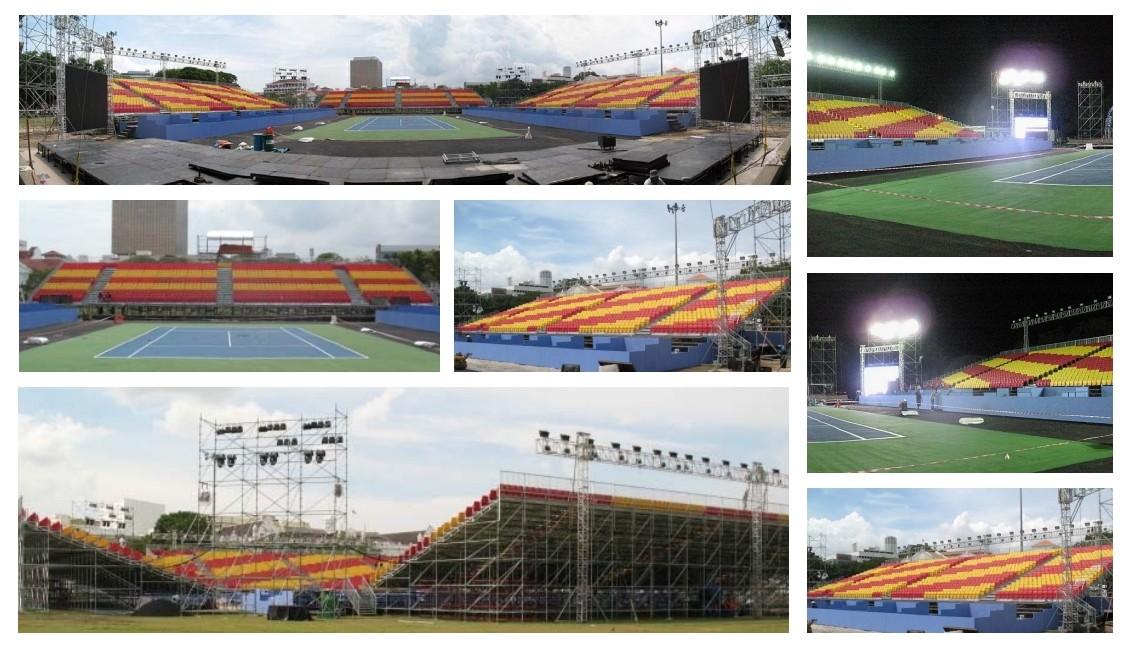 Tennis-South East Asian Games-Kuala Lumpur - 2008