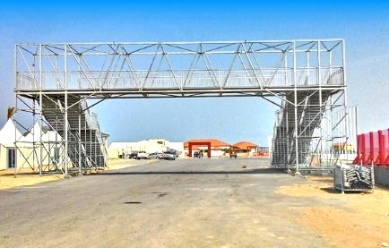 AZERBAIJAN – Baku – 1st European Games – Pedestrian bridge- 2015