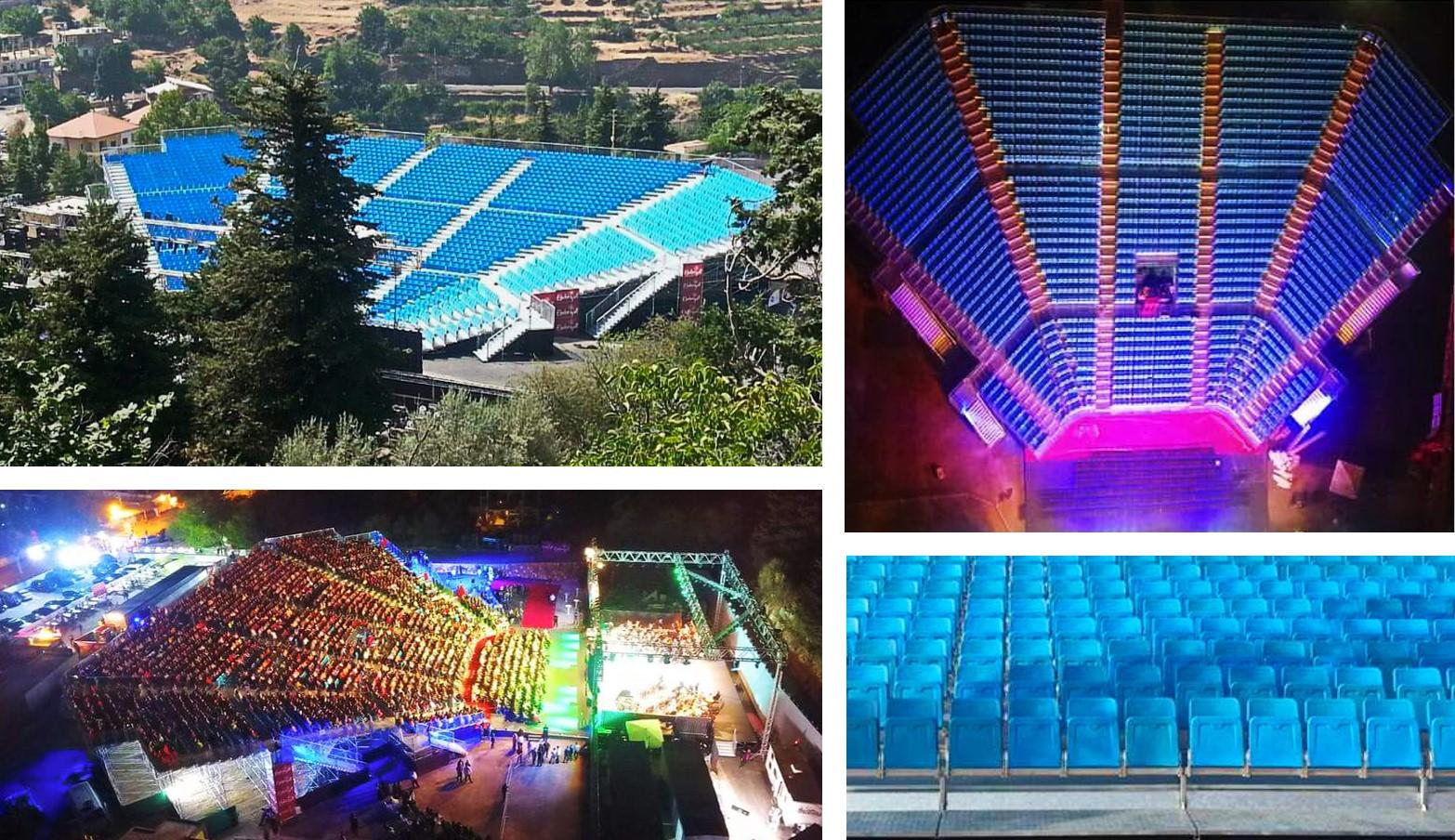 Lebanon Ehdeniyat Festival 2016 Pakar Seating Grandstand