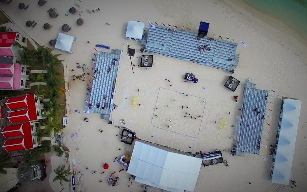 REPUBLIC OF MAURITIUS -Flic-en Flac- U17 Beach Handball  World Championships- 2017