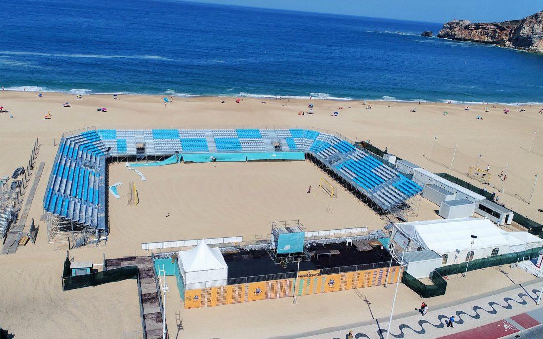 PORTUGAL – Nazare- Beach Soccer Stadium- 2018