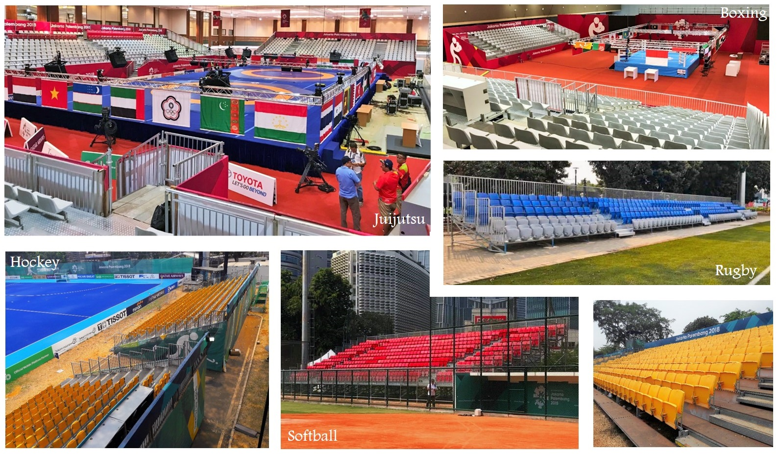 Cycling and Triathlon - Baku European Games 2015 Pakar Seating Grandstand