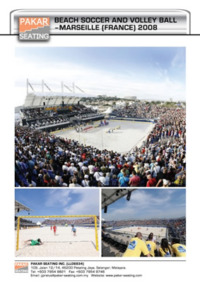 BEACH SOCCER AND VOLLEY BALL - MARSEILLE (FRANCE) 2008