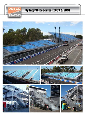 Australia, Sydney V8 - 6500 seats