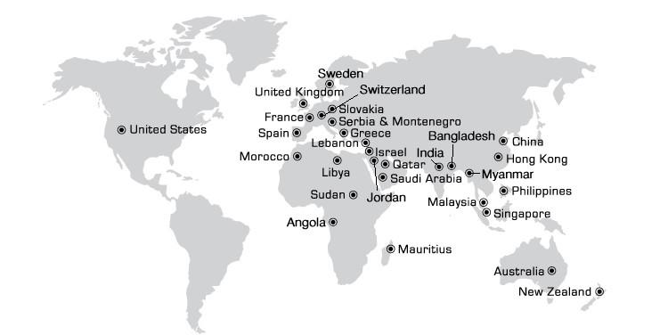 Grandstand design worldwide