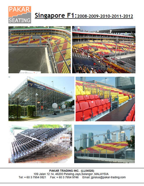 Singapore F1: 2008-2009-2010-2011-2012