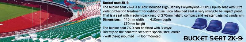 BUCKET SEAT ZK-9