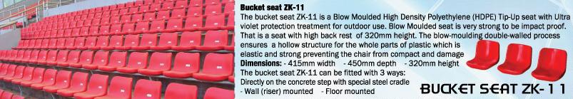 BUCKET SEAT ZKY-11