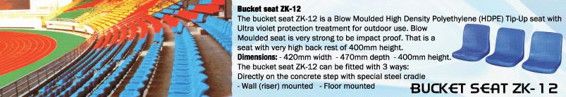 BUCKET SEAT ZKY-12
