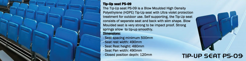 TIP-UP SEAT PS-09