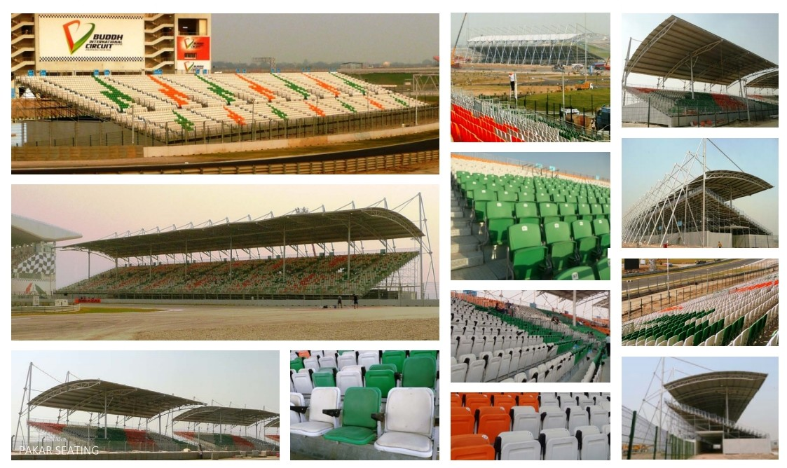 INDIA - Buddh International Circuit - GP F1 - 43,000 seats with 18,000 seats covered