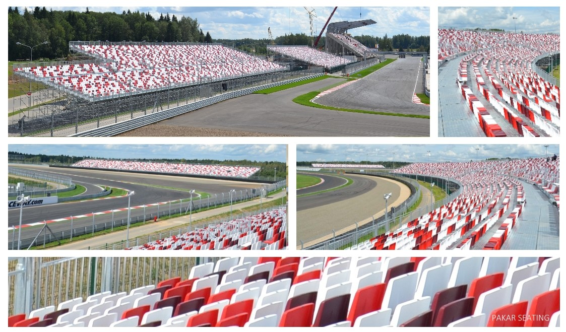 2014 RUSSIA – Moscow Raceway – 26,700 seats Grandstand
