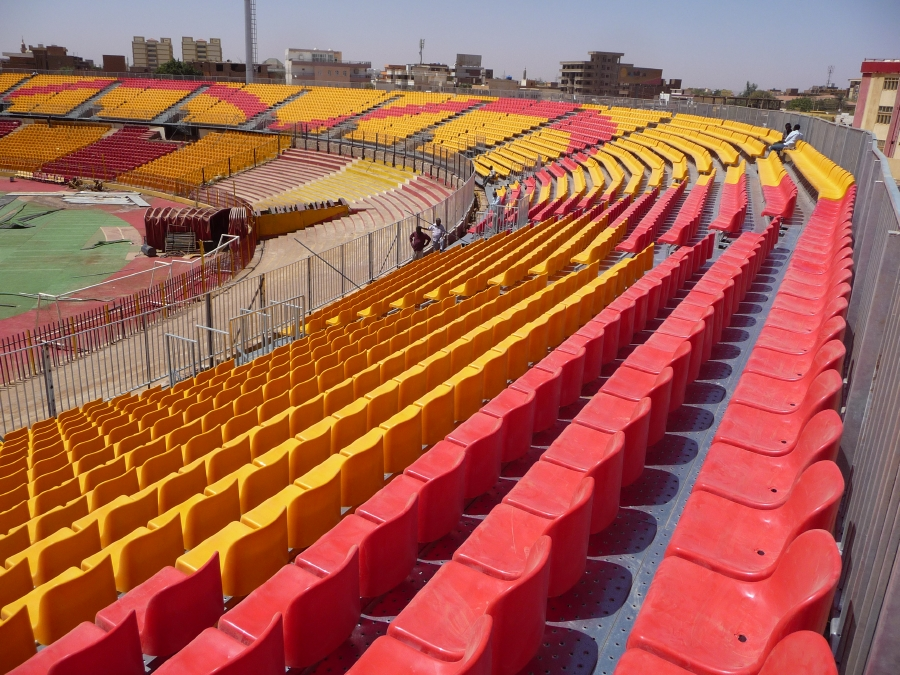 Our Steel Stadium Seating is extremely versatile.
