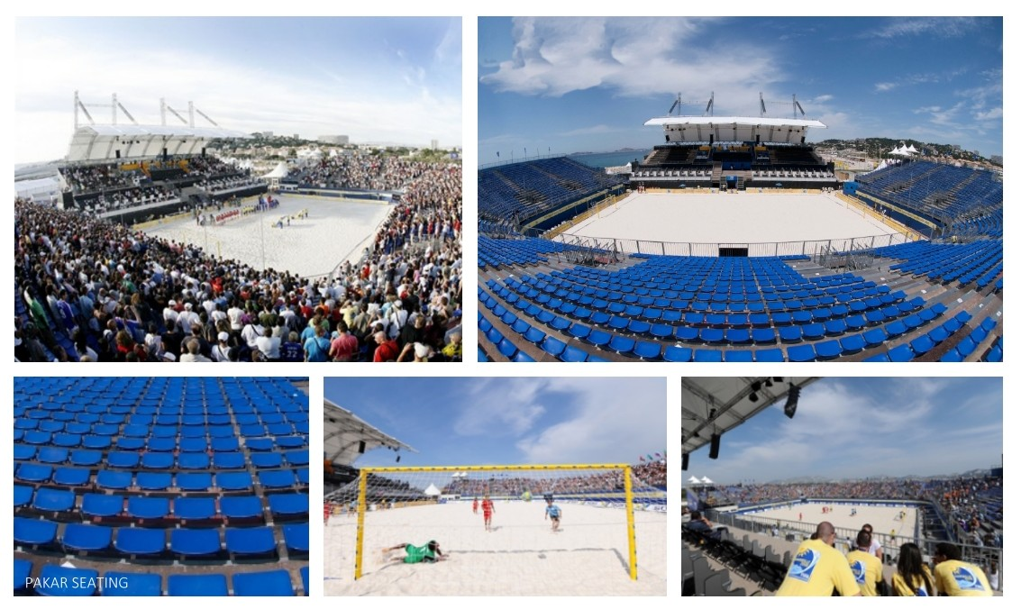 Beach Soccer and Volley Ball – Marseille (France) 2008