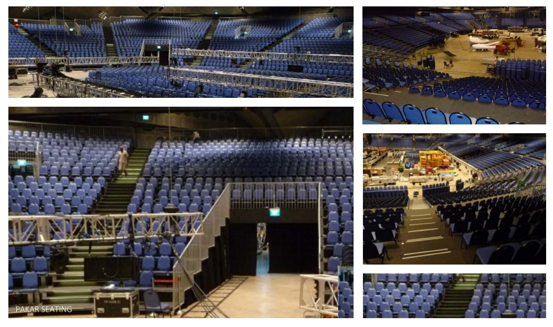 Grandstand City Harvest Church-Singapore Feb.2011 Capacity 6,200 seats