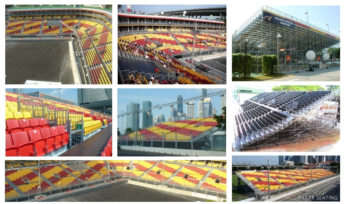 Grandstand Singapore F1 from 2008