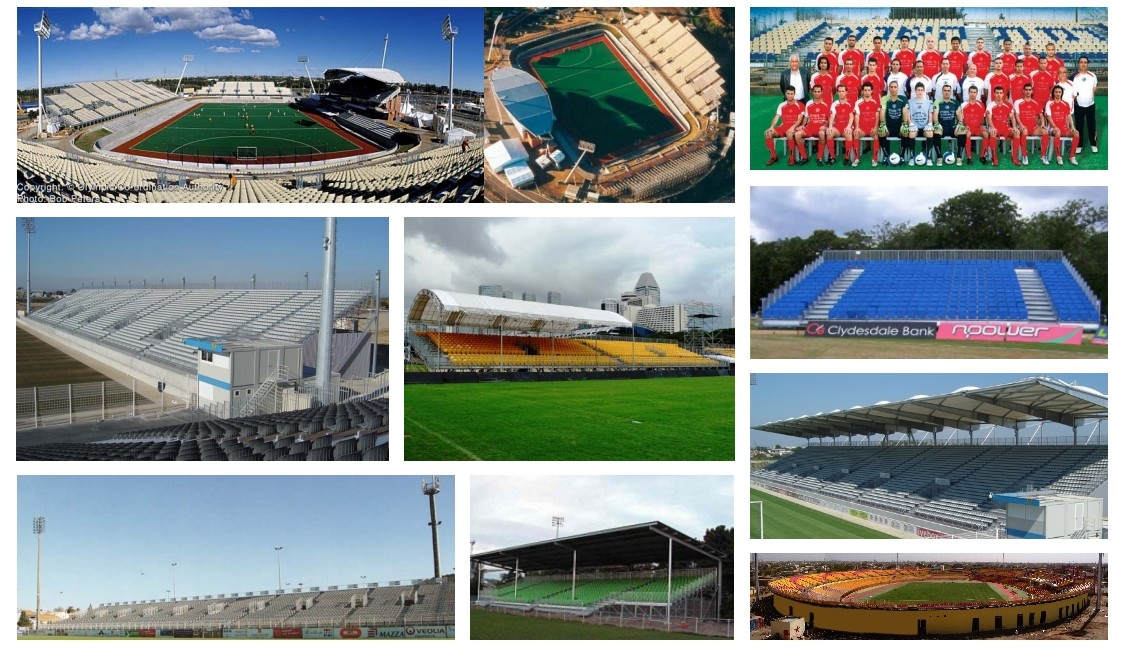 Pakar Grandstand for Football Stadium
