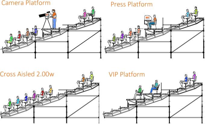 Pakar Grandstand Special Platforms