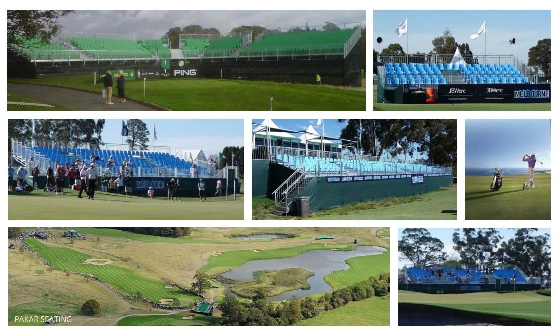 Pakar Seating Golf Grandstands tribune bleachers