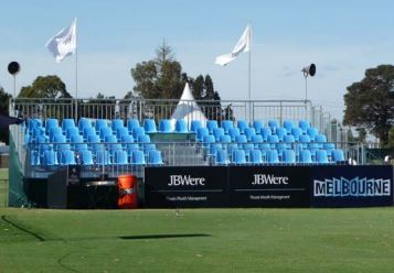 Golf Grandstands tribune bleacher