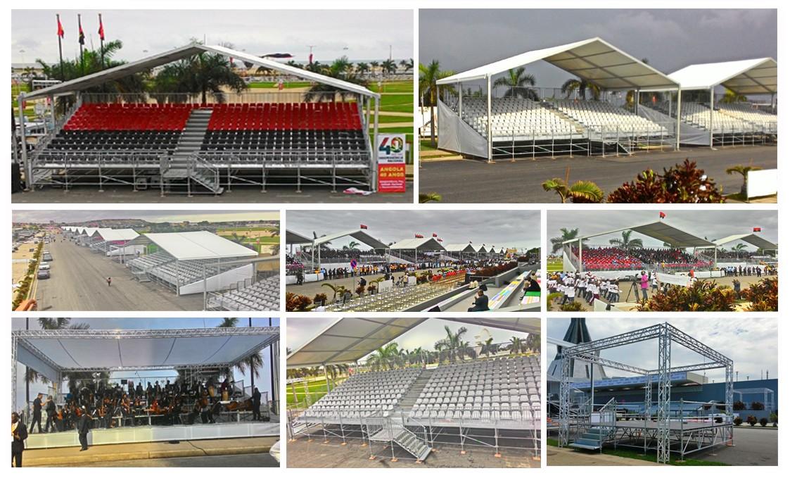 40th Anniversary Celebration - Angola - 4,500 seats
