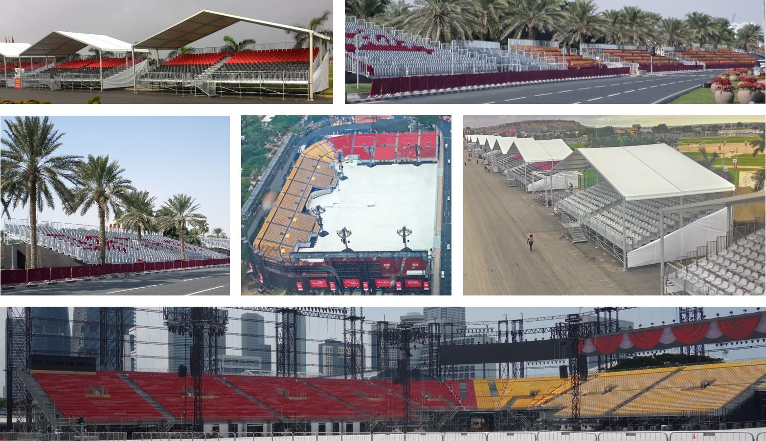 National Day grandstands