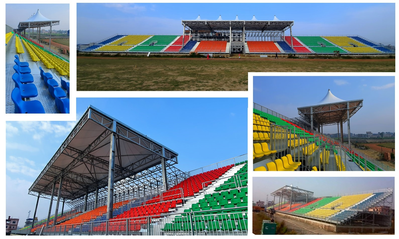 Nepal Itahari Modular Stadium
