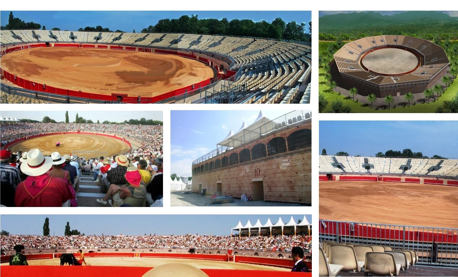 Corrida Arena MODULAR Grandstand