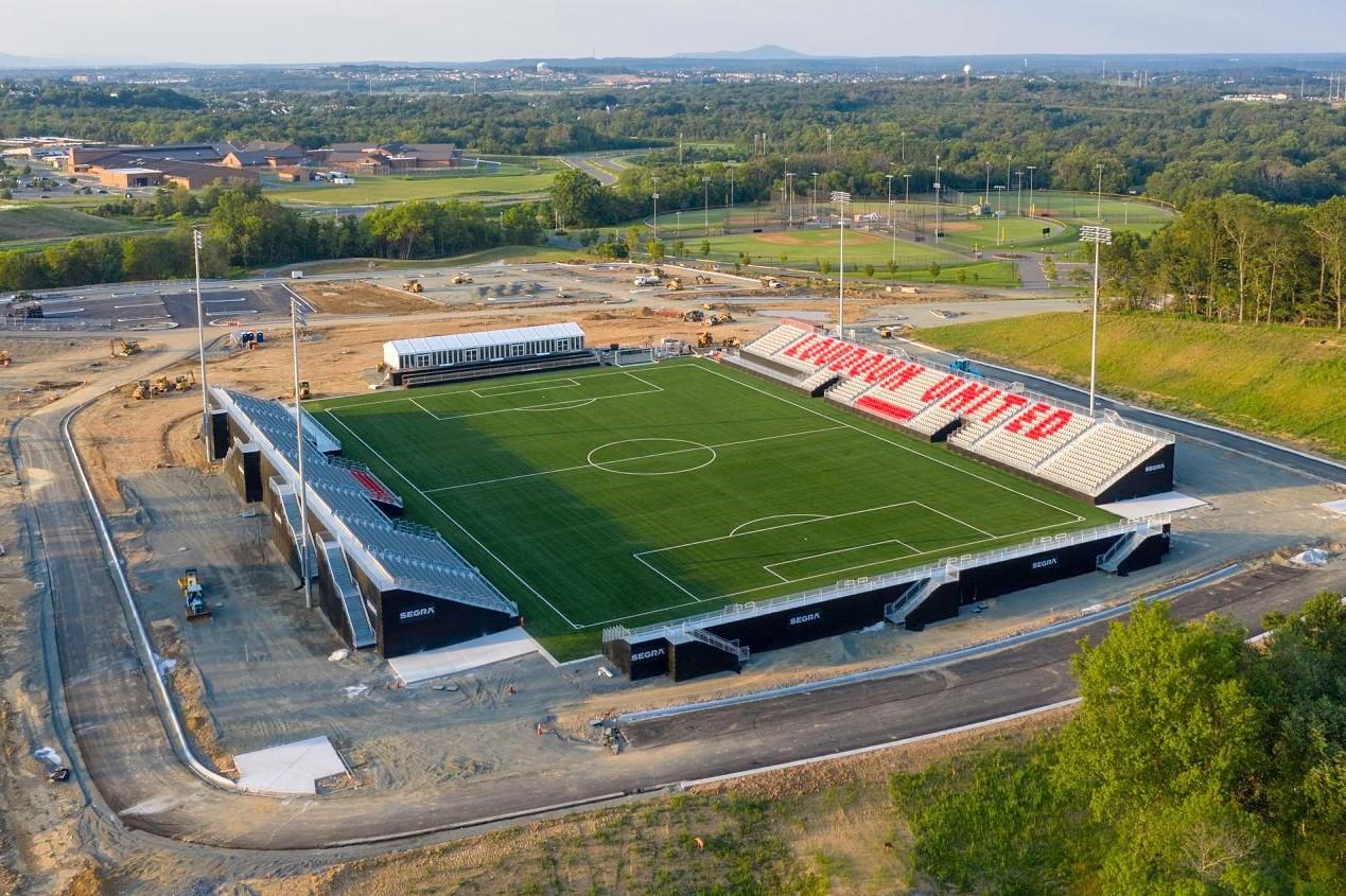Modular Semi-Permanent Steel Stadium