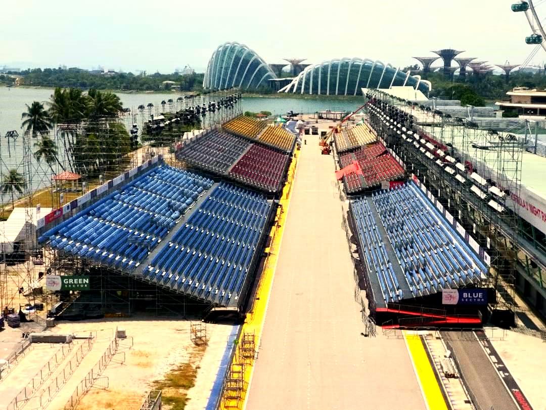 parade grandstand modular scaffolding system