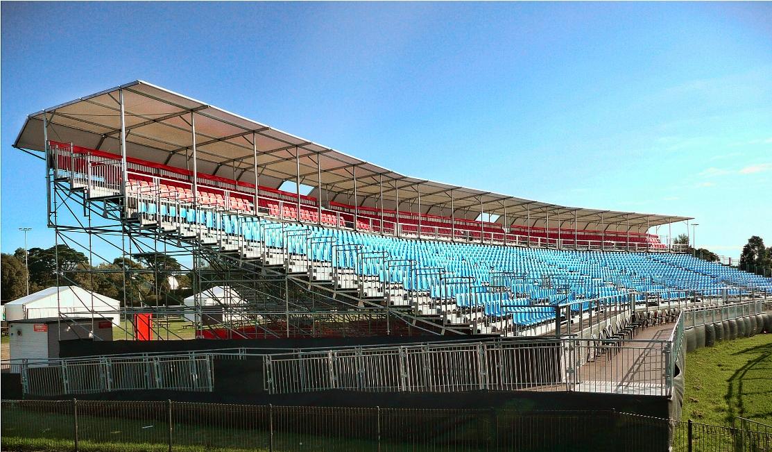 Pakar Grandstand in Melbourne GP 2012
